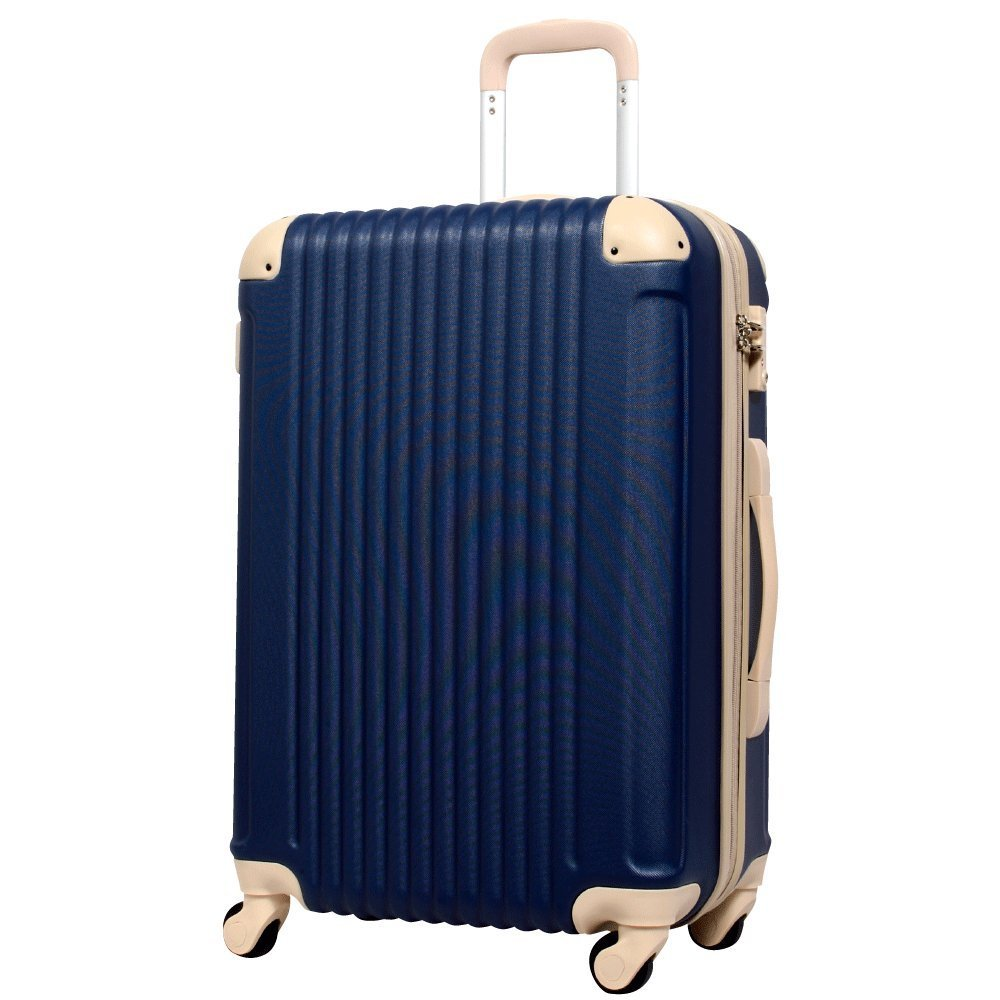 2ea731aaa6 POPDO (ネイビー×ベージュ) 3サイズ | スーツケース | Sotoico(ソトイコ)